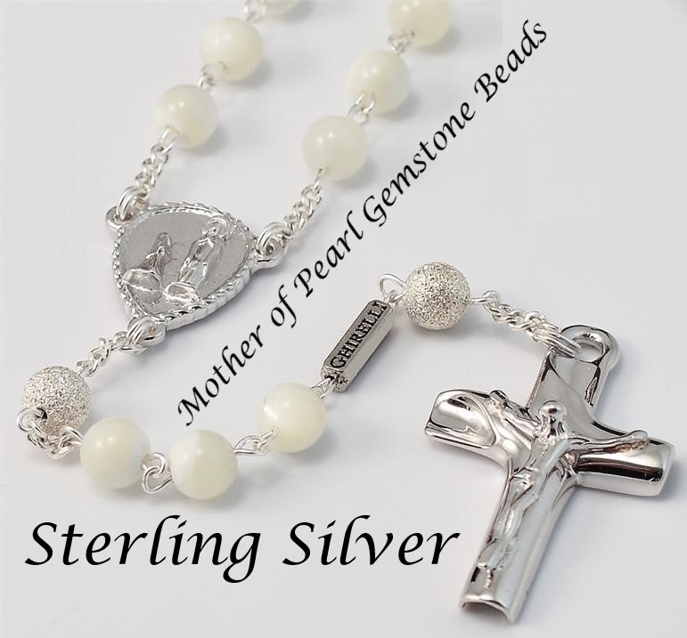 Pearl Rosary - Style 1G9074