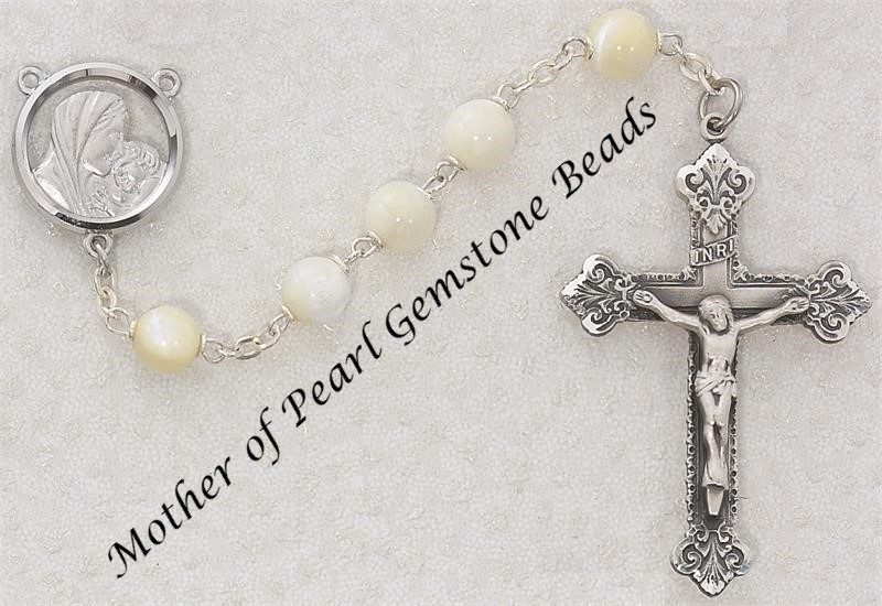 Pearl Rosary - Style RM137ASF