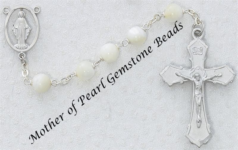 Pearl Rosary - Style RM275RF