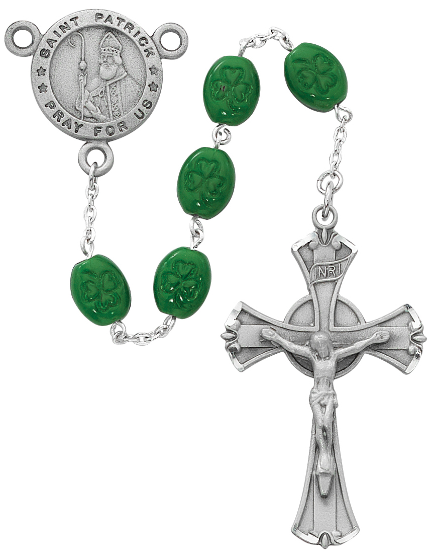Saint Patrick Rosary - Style RM148DF