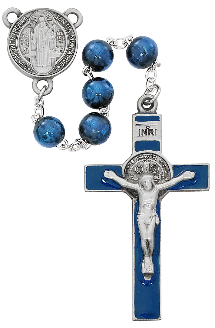 Saint Benedict Rosary - Style RM669DF