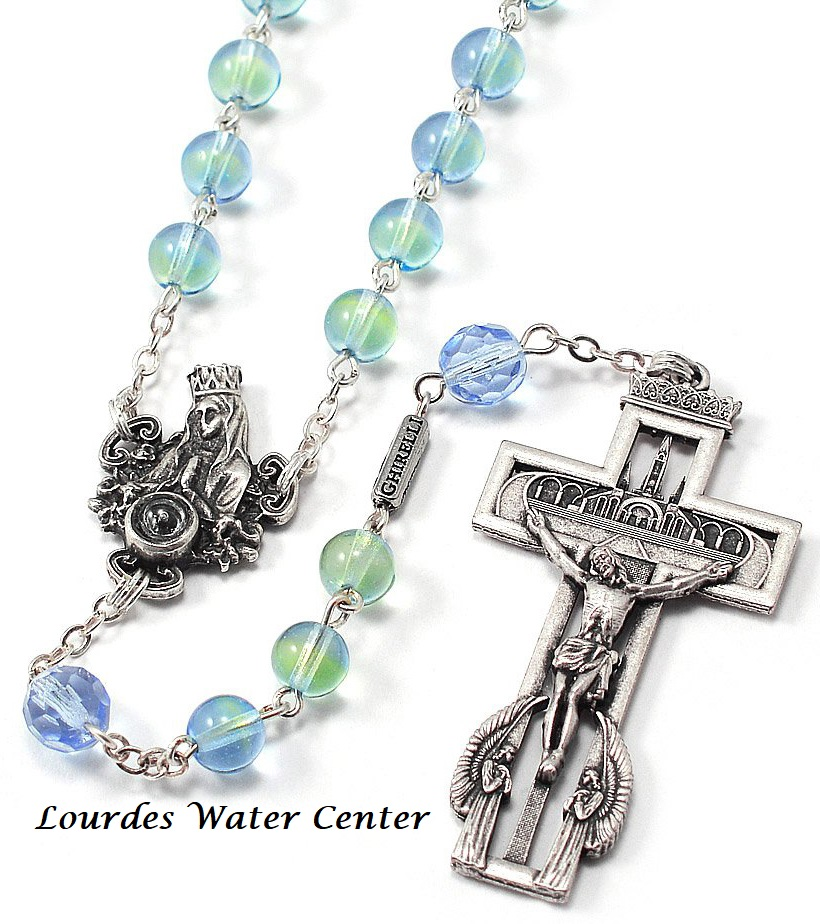 Our Lady Of Lourdes 160th Anniversary Rosary With Lourdes Water