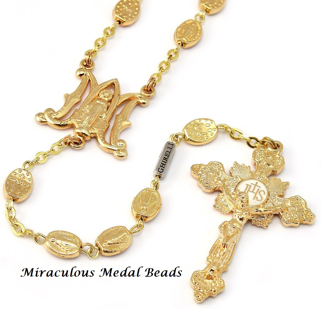 Miraculous Medal Rosary - Style 1G9007C