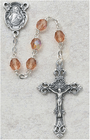 October Birthstone Rosary - Style 8M75RSG