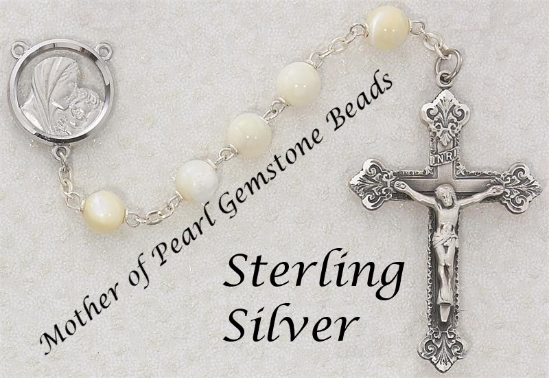 Pearl Rosary - Style RM137LF