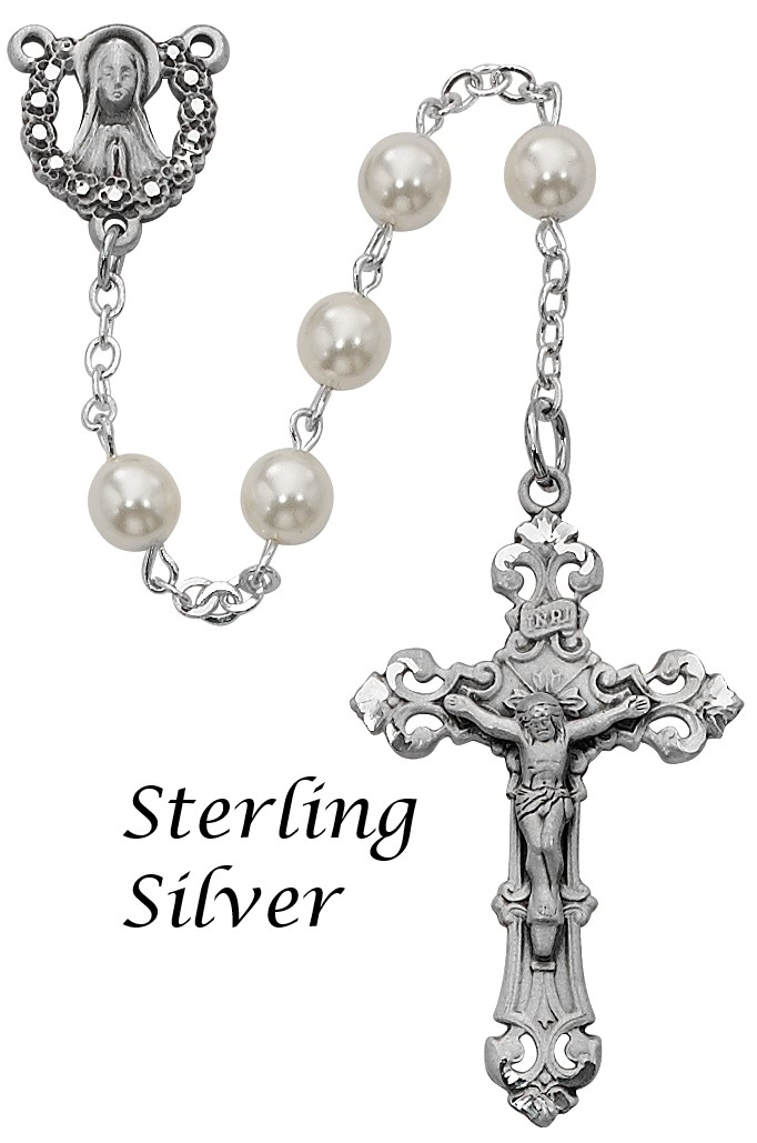Pearl Rosary - Style RM274LF