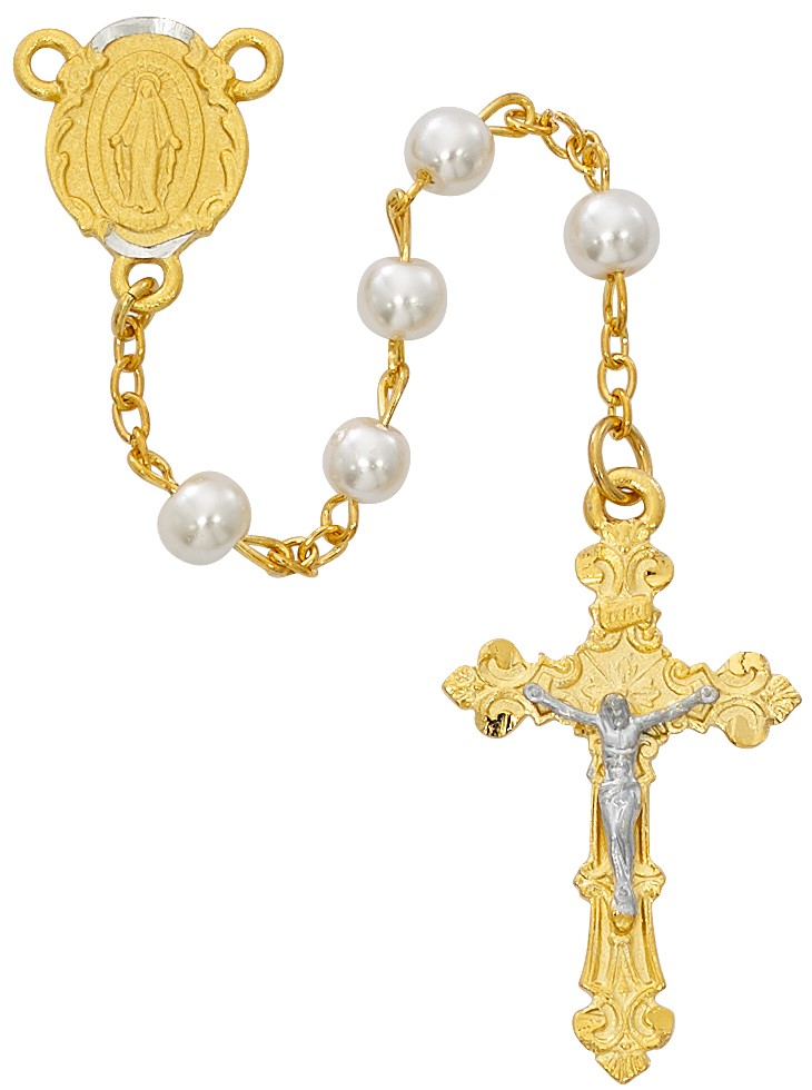 Pearl Rosary - Style RM672HF